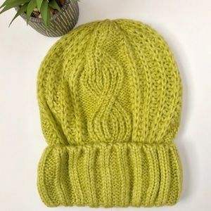 Free People Cable Knit Beanie